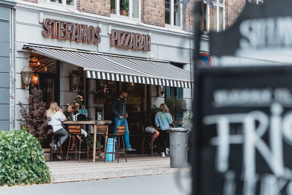 Mysiga gator i Köpenhamn