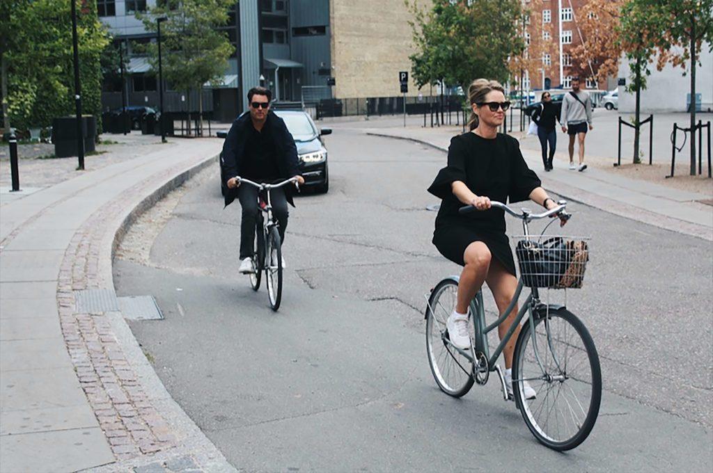 Cykla i Köpenhamn